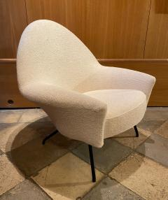 Joseph Andre Motte 770 Armchair and Ottoman for Steiner France 1950s - 2023284