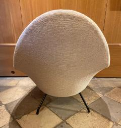 Joseph Andre Motte 770 Armchair and Ottoman for Steiner France 1950s - 2023287
