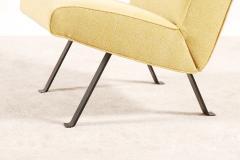 Joseph Andre Motte Joseph Andr Motte Pair of Lounge Chairs Model 740 for Steiner 1957 - 1247679