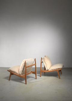 Joseph Andre Motte Joseph Andre Motte pair of chairs for Steiner - 1450155