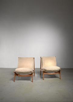 Joseph Andre Motte Joseph Andre Motte pair of chairs for Steiner - 1450156