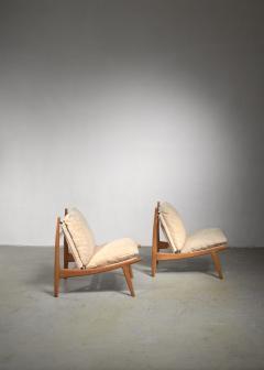 Joseph Andre Motte Joseph Andre Motte pair of chairs for Steiner - 1450162