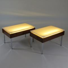 Joseph Andre Motte Pair of Illuminated tables - 922255