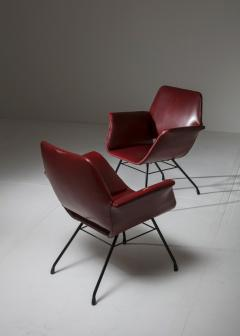 Joseph Andre Motte Pair of Italian 1950s Armchairs - 851787