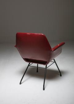 Joseph Andre Motte Pair of Italian 1950s Armchairs - 851790