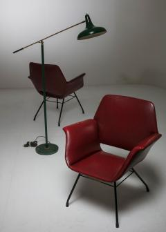 Joseph Andre Motte Pair of Italian 1950s Armchairs - 851793
