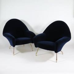 Joseph Andre Motte Pair of chic armchairs - 1315955