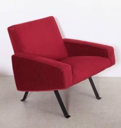 Joseph Andre Motte Rare Slipper Chairs by Joseph Andr Motte for Steiner France 1955 - 533196