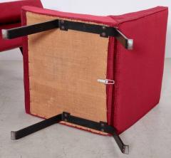 Joseph Andre Motte Rare Slipper Chairs by Joseph Andr Motte for Steiner France 1955 - 533197