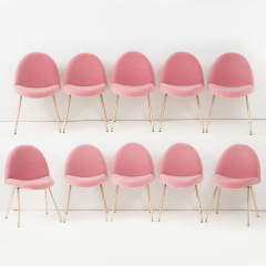 Joseph Andre Motte Set of ten dining chairs - 956825