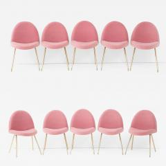 Joseph Andre Motte Set of ten dining chairs - 961712