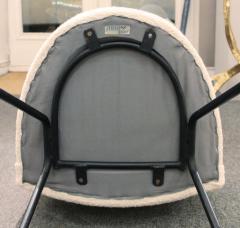 Joseph Andre Motte Set of twelve chairs model 771 by Joseph Andre Motte for Steiner Circa 1954 - 918429