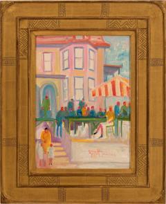 Joseph Barrett Morning at the Market Lasaska  - 1155010