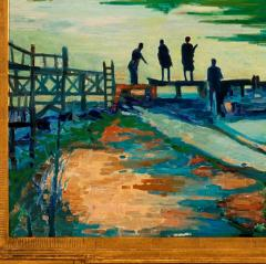 Joseph Barrett Shad Fishing on the Delaware  - 1147093