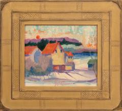 Joseph Barrett Sunrise Old Farm Rushland  - 1198047