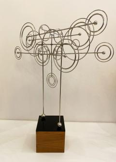 Joseph Burlini Kinetic Metal Sculpture by Joseph A Burlini - 1831734