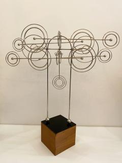 Joseph Burlini Kinetic Metal Sculpture by Joseph A Burlini - 1831735