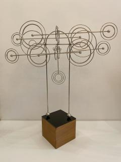 Joseph Burlini Kinetic Metal Sculpture by Joseph A Burlini - 1831737