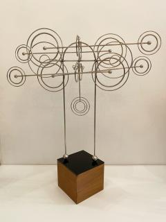 Joseph Burlini Kinetic Metal Sculpture by Joseph A Burlini - 1831738