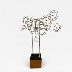 Joseph Burlini Kinetic Metal Sculpture by Joseph A Burlini - 1834369
