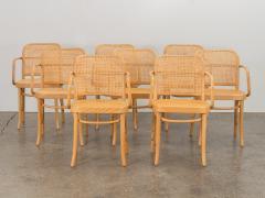 Joseph Hoffman Johnson Set of 8 Bentwood Chairs by Joseph Hoffman - 1285056