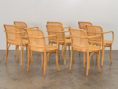 Joseph Hoffman Johnson Set of 8 Bentwood Chairs by Joseph Hoffman - 1285066