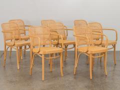 Joseph Hoffman Johnson Set of 8 Bentwood Chairs by Joseph Hoffman - 1285067