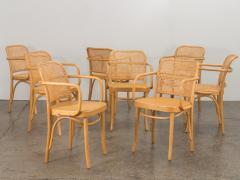 Joseph Hoffman Johnson Set of 8 Bentwood Chairs by Joseph Hoffman - 1285068