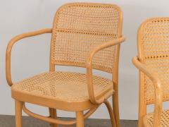 Joseph Hoffman Johnson Set of 8 Bentwood Chairs by Joseph Hoffman - 1285069