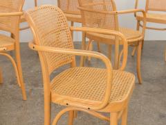 Joseph Hoffman Johnson Set of 8 Bentwood Chairs by Joseph Hoffman - 1285078