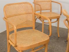 Joseph Hoffman Johnson Set of 8 Bentwood Chairs by Joseph Hoffman - 1285079