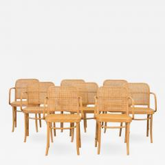 Joseph Hoffman Johnson Set of 8 Bentwood Chairs by Joseph Hoffman - 1288961