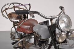 Joseph Lenaerts Rare Lenaerts Carousel Motorbike Belgium 1950s - 813912