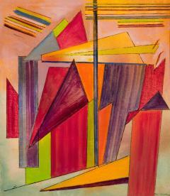 Joseph Meierhans Geometric Rainbow - 696537