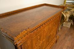 Joseph Pierre Francois Jeanselme French Inlaid Cabinet attributed to Jeanselme - 109452