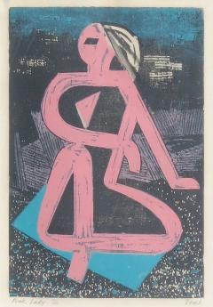 Joseph Zenk Pink Lady - 291847