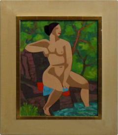 Joseph Zenk Woman on the Rocks  - 1198245