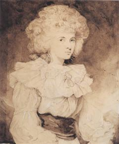 Joshua Reynolds Portrait of Lady Georgiana Spencer later the Duchess of Devonshire - 1012006