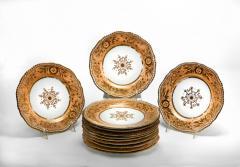 Josiah Spode II Set of Twelve Spode Dessert Plate - 1908979
