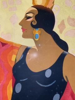 Juan Bacera Juan Baceras Fiesta De Primavera 1932 Art Deco Lithographic Poster - 1482474