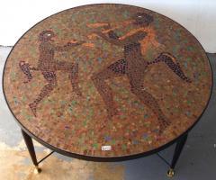 Juan O Gorman Glass Mosaic Table In the Style of Juan OGorman - 414713