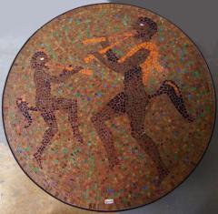 Juan O Gorman Glass Mosaic Table In the Style of Juan OGorman - 414714