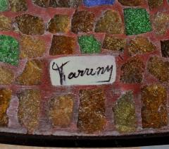 Juan O Gorman Glass Mosaic Table In the Style of Juan OGorman - 414715