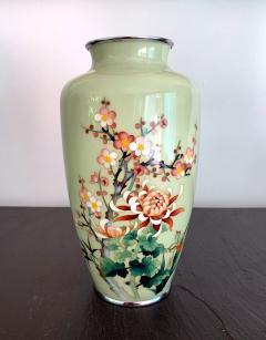 Jubei Ando A Japanese Cloisonne Vase by Ando Jubei Meiji Period - 944187