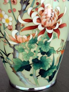 Jubei Ando A Japanese Cloisonne Vase by Ando Jubei Meiji Period - 944188