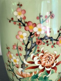 Jubei Ando A Japanese Cloisonne Vase by Ando Jubei Meiji Period - 944190
