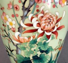 Jubei Ando A Japanese Cloisonne Vase by Ando Jubei Meiji Period - 944194