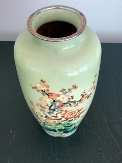 Jubei Ando A Japanese Cloisonne Vase by Ando Jubei Meiji Period - 944196
