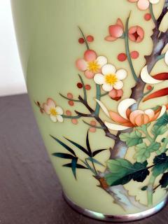 Jubei Ando A Japanese Cloisonne Vase by Ando Jubei Meiji Period - 944197