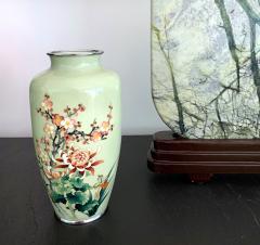 Jubei Ando A Japanese Cloisonne Vase by Ando Jubei Meiji Period - 944201